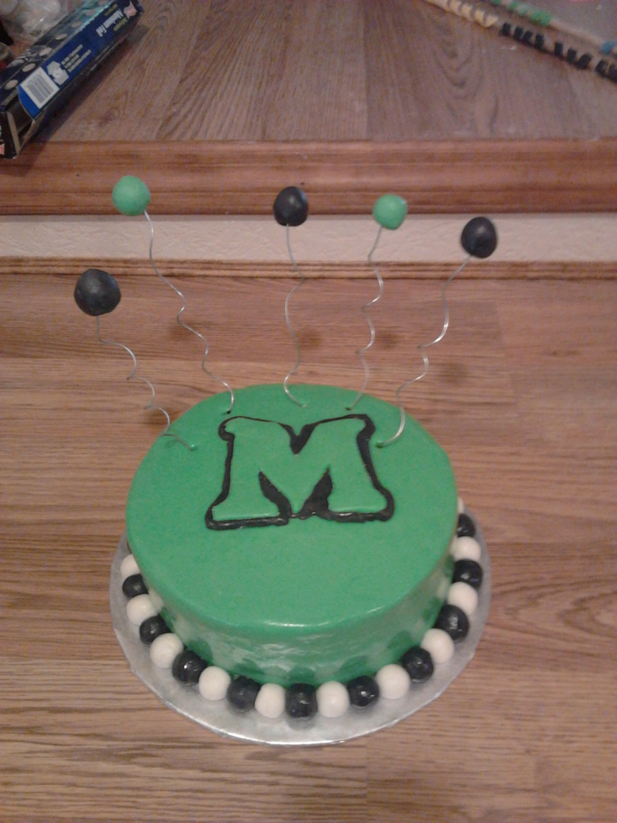 Marshall Cake  on Cake Central