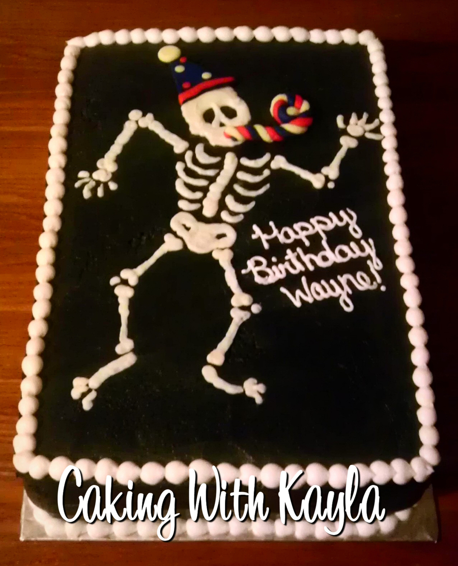 X-Ray Birthday Cake on Cake Central