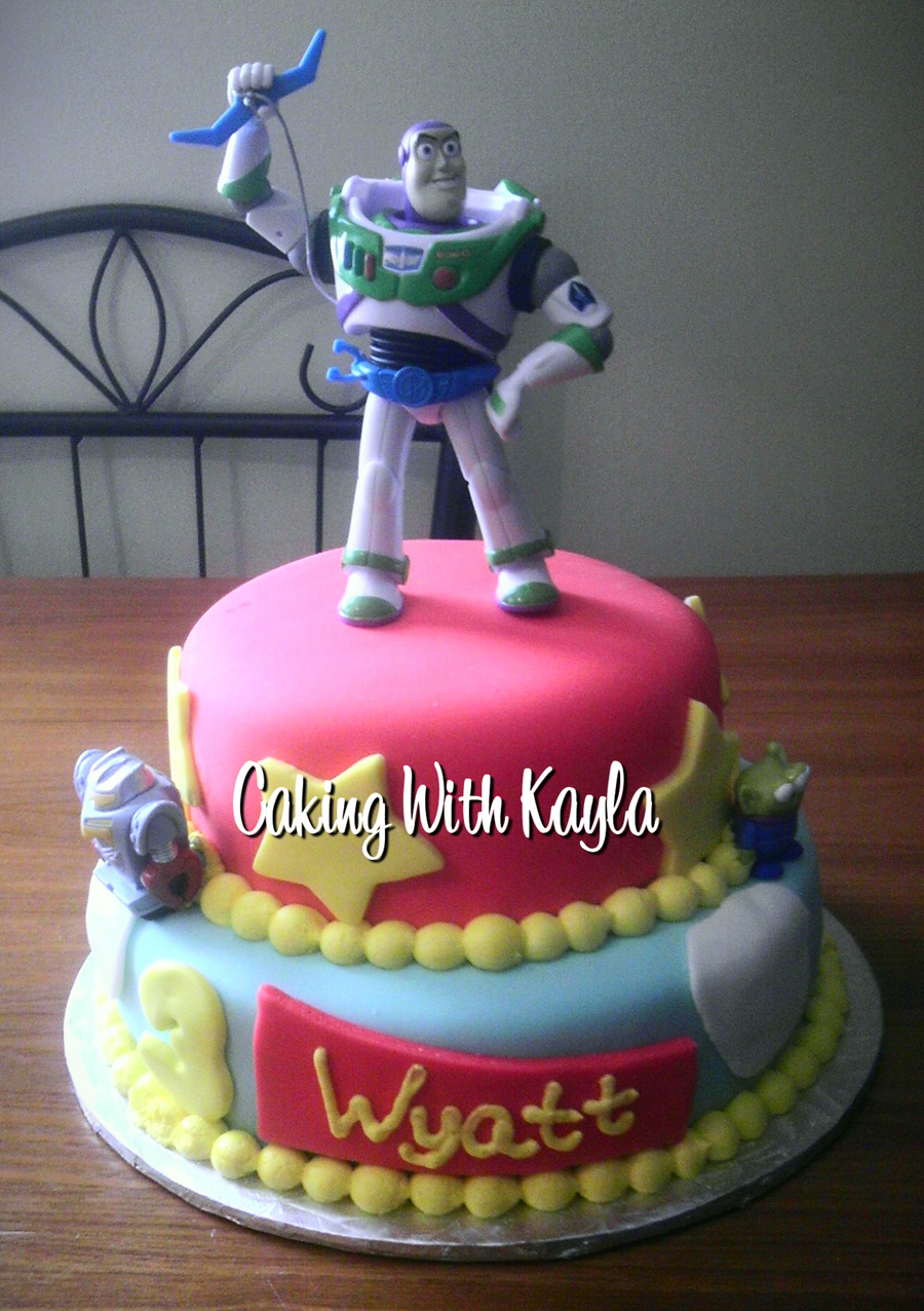 Buzz Lightyear Cake on Cake Central