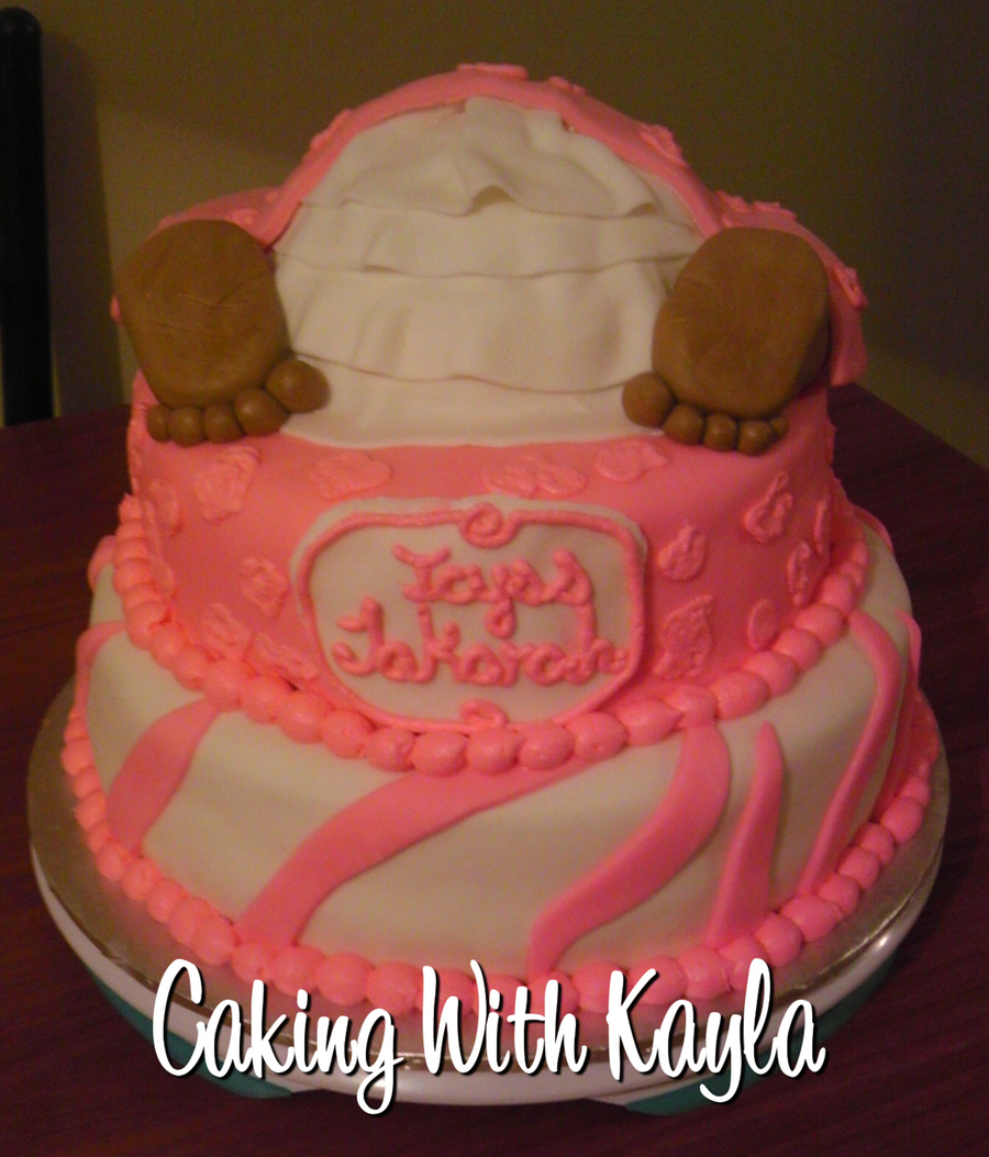 Baby Rump Baby Shower Cake on Cake Central