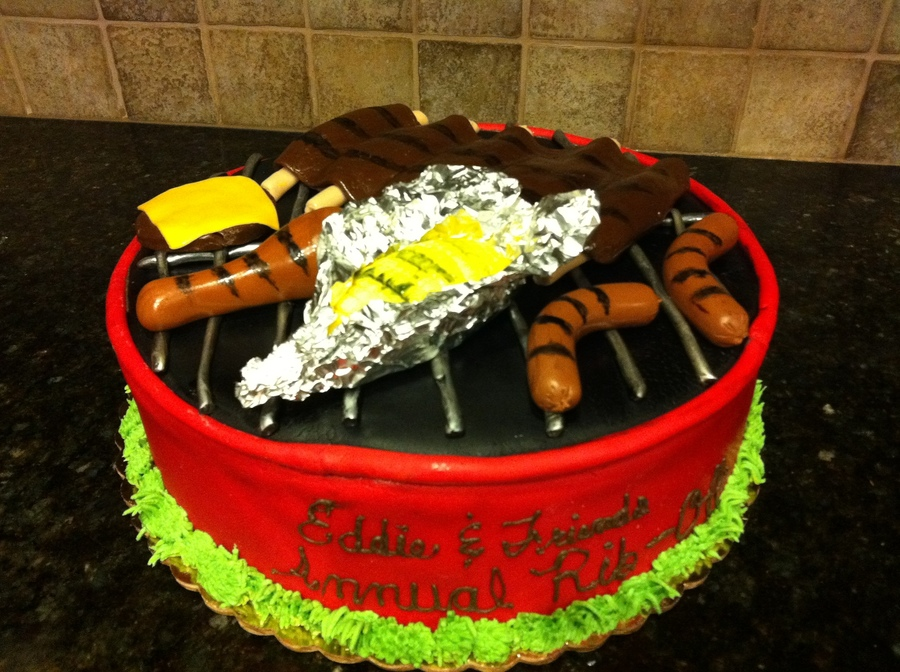 Bbq Grill Cake on Cake Central
