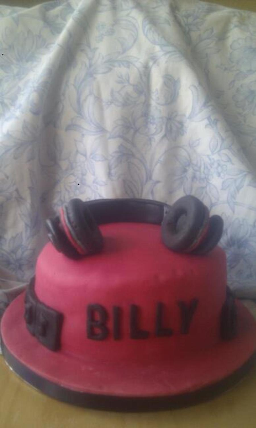 Beats By Dre Birthday Cake