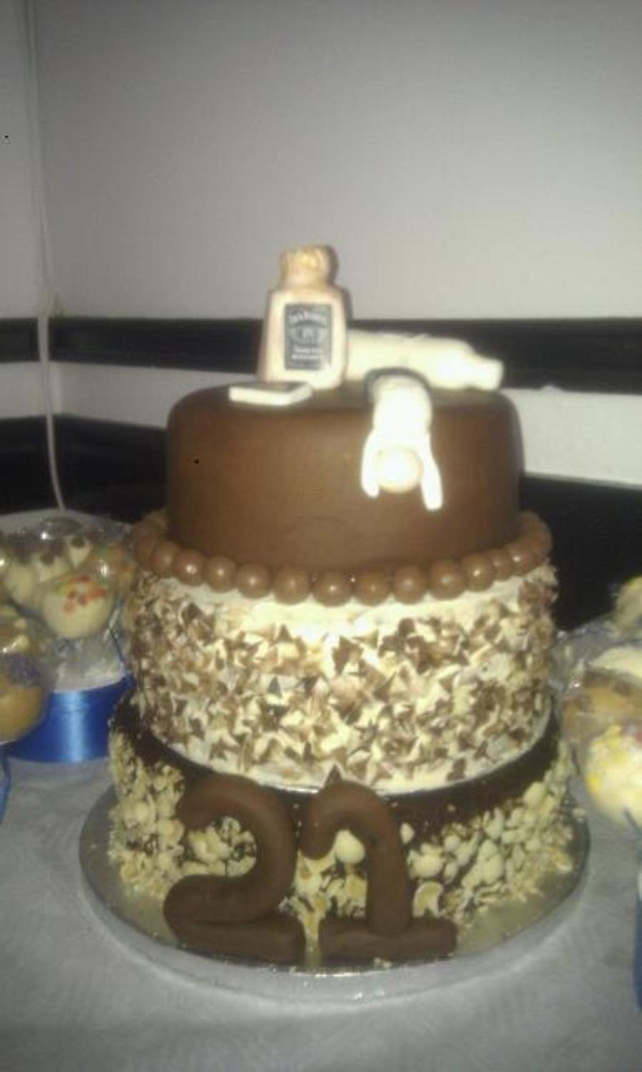 Vodka Cake Topper