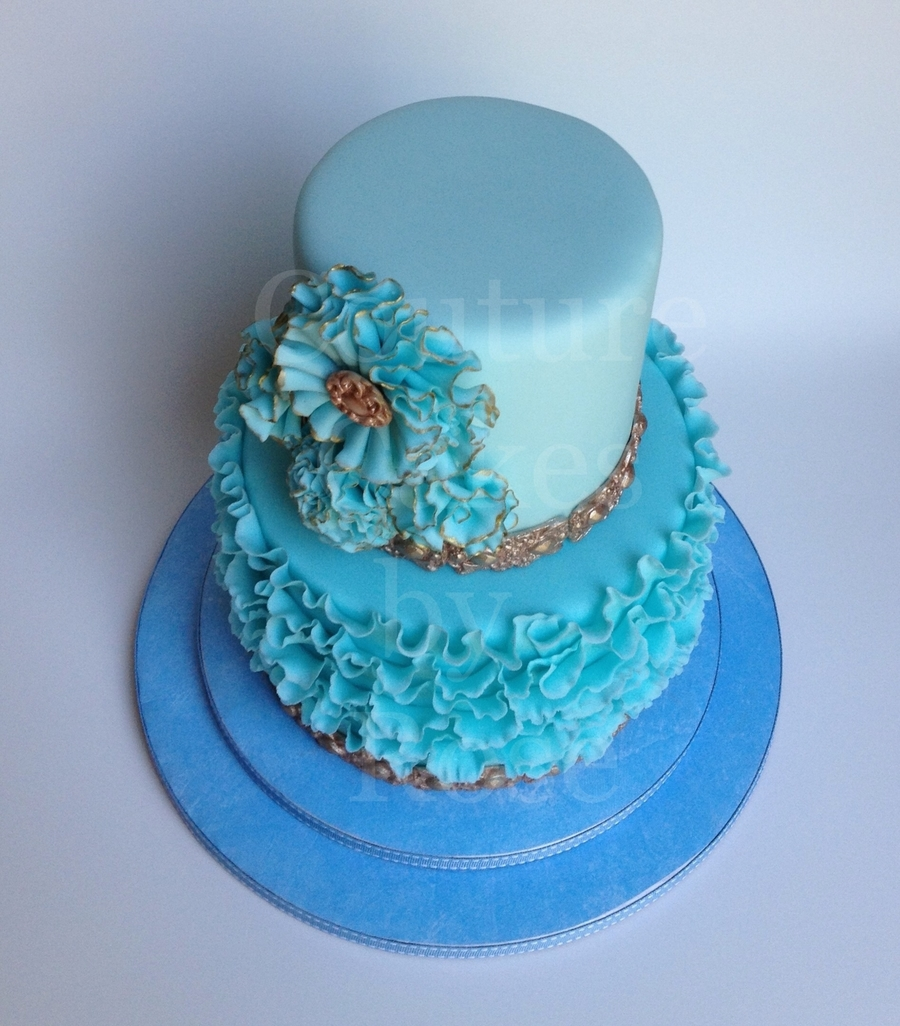 Pretty In Blue CakeCentralcom