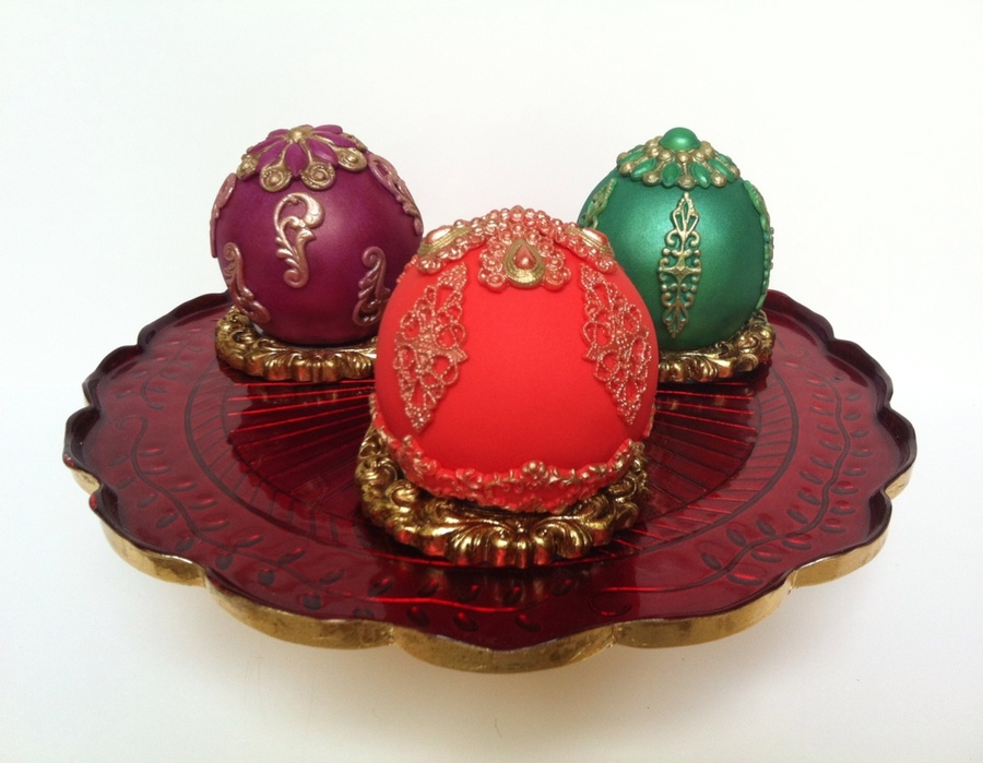 Christmas Bauble Cakes - CakeCentral.com