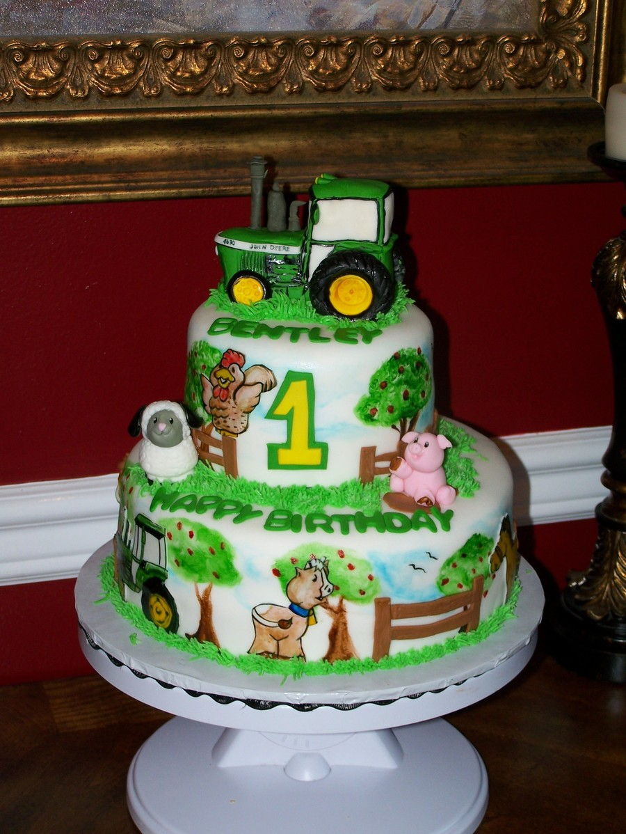 1St John Deere on Cake Central