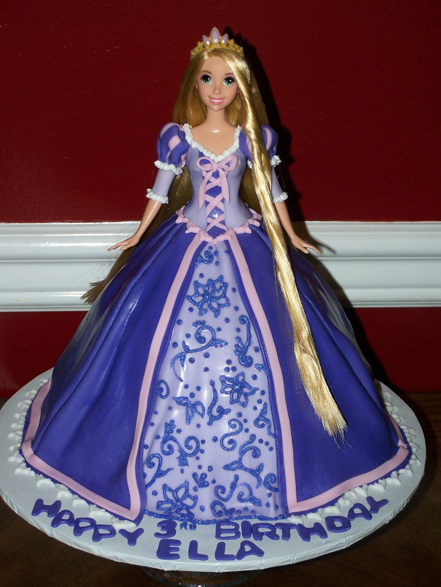Rapunzel Cake on Cake Central