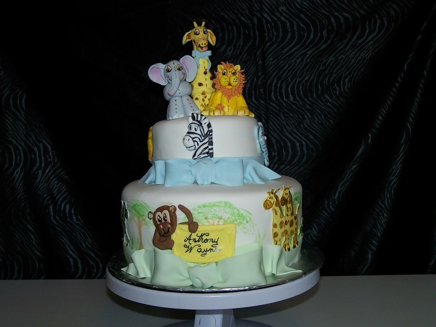 Animal Baby Shower on Cake Central