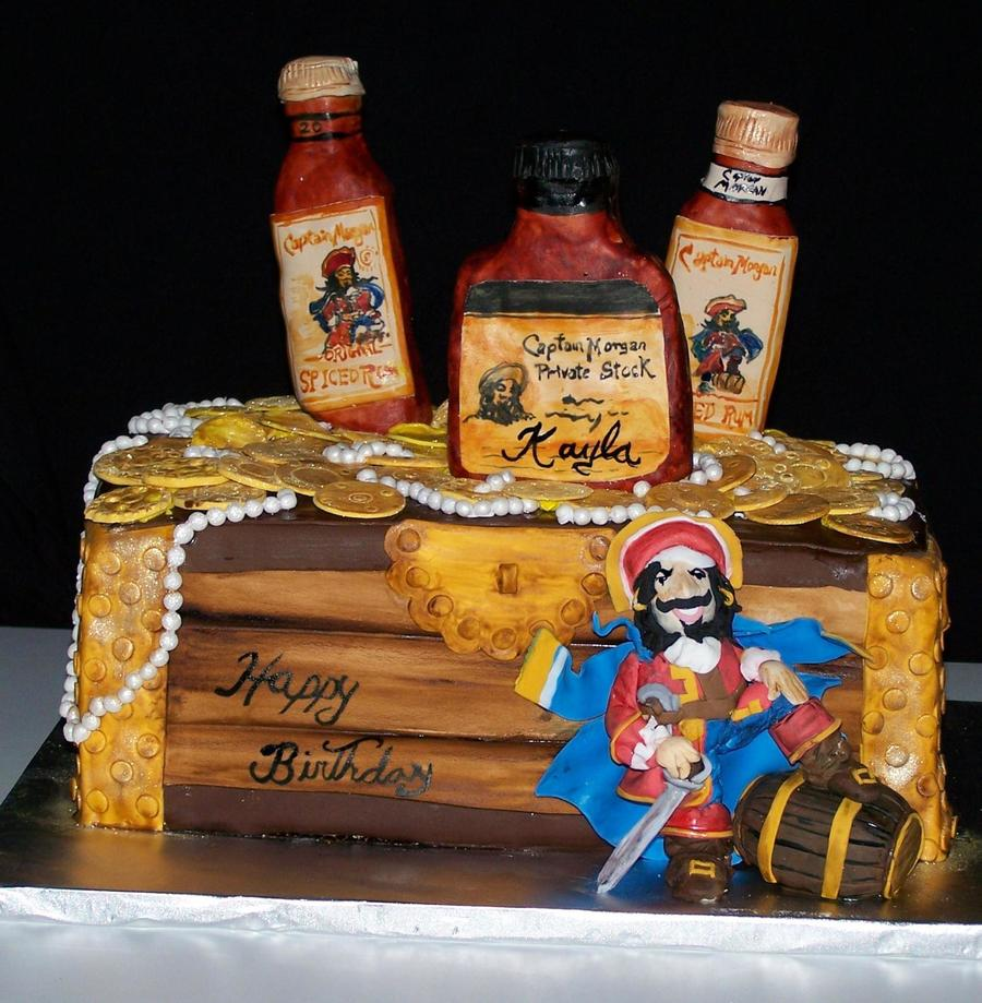 Captain Morgan Cake on Cake Central