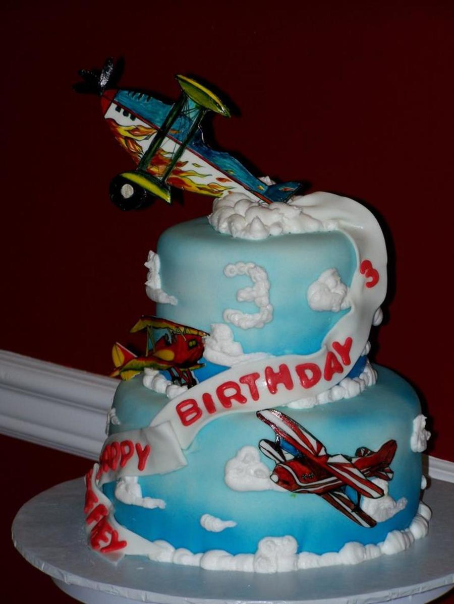 Air Planes on Cake Central