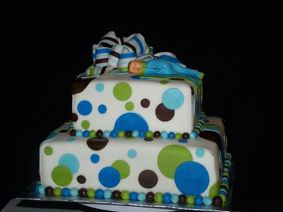 Baby Shower Cake Boy on Cake Central