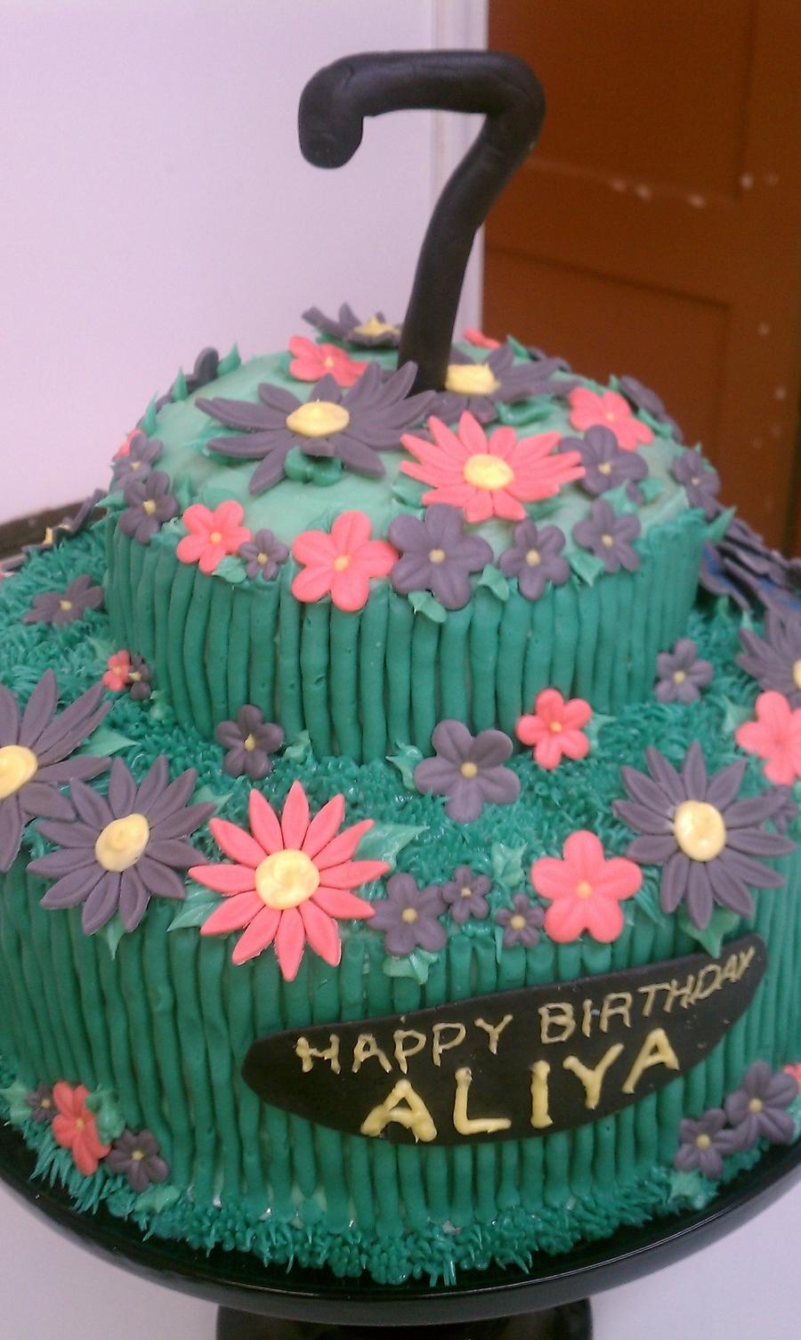 Flower garden birthday cake cakecentral flower garden birthday cake on cake central izmirmasajfo