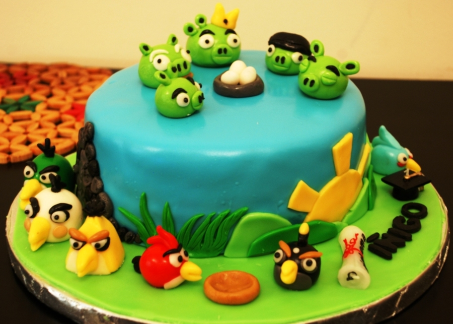 Inigo's Angry Birds on Cake Central