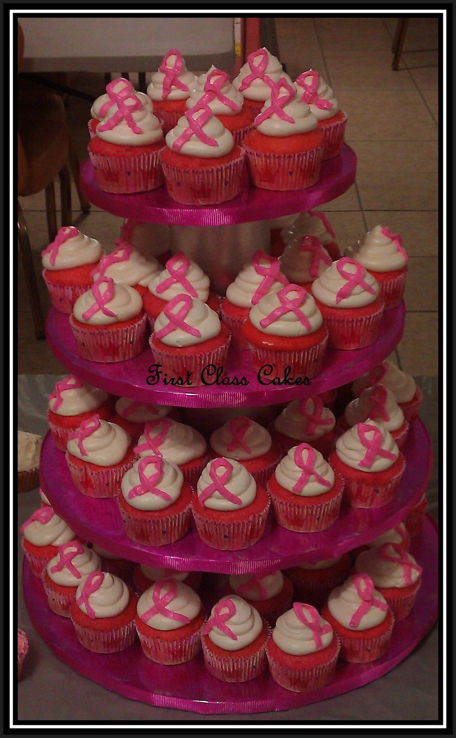 Breast Cancer Awareness Cupcakes on Cake Central