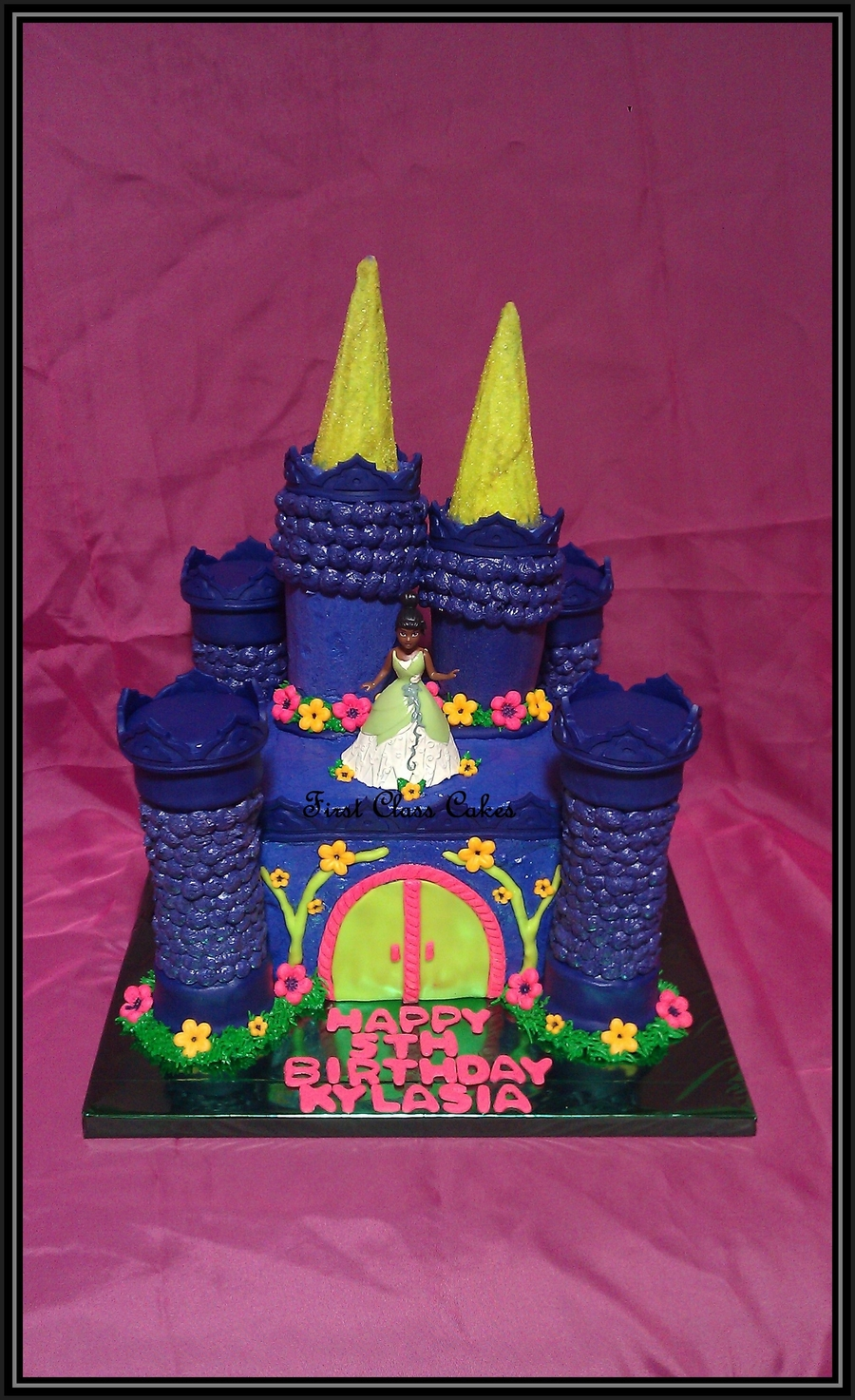 Princess & The Frog Castle Cake on Cake Central