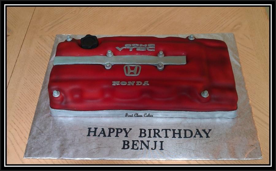 Vtec Birthday Cake