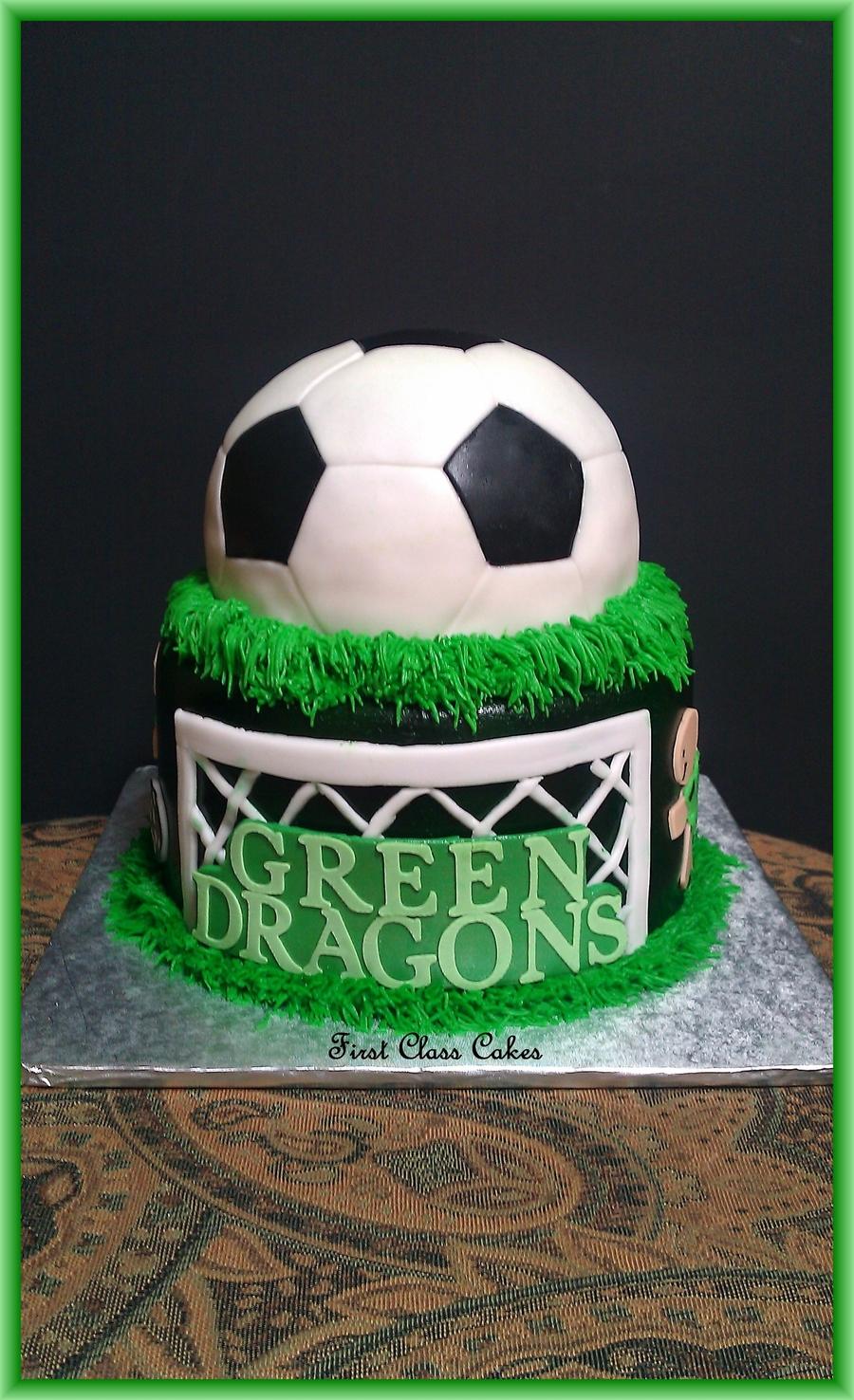 Images Of Soccer Cake : Soccer Cake - CakeCentral.com