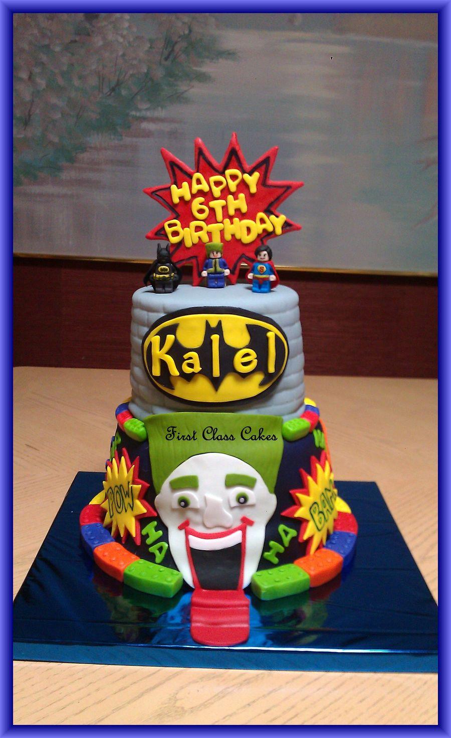 Lego Batman Cake CakeCentralcom