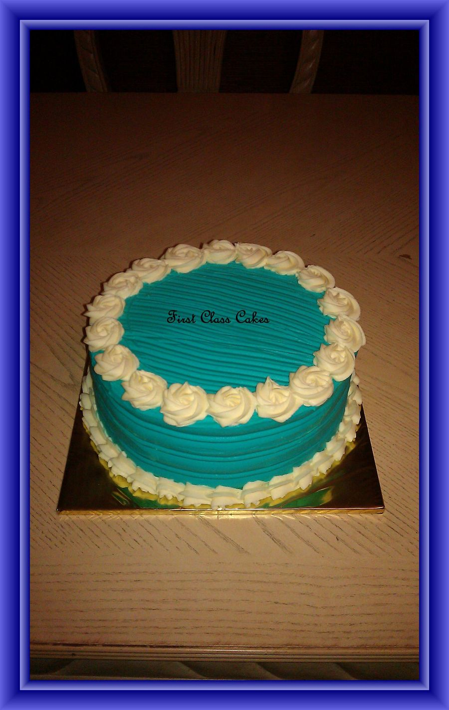 Simply Blue  on Cake Central