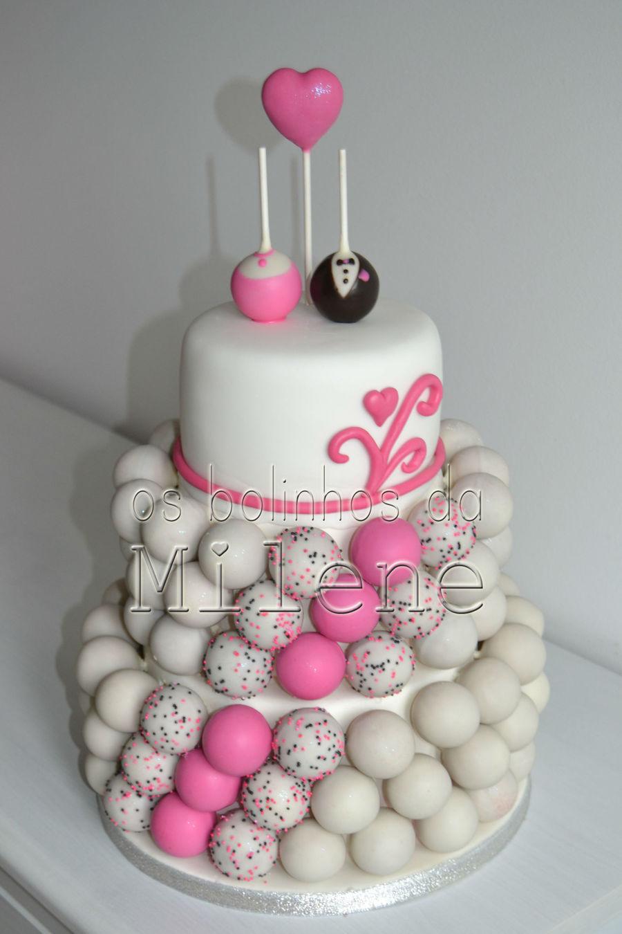 cake pop wedding cake. Black Bedroom Furniture Sets. Home Design Ideas