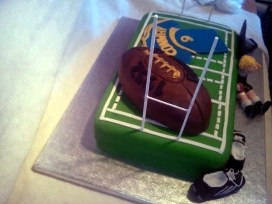 Rugby 60th Birthday Cake Cakecentral Com
