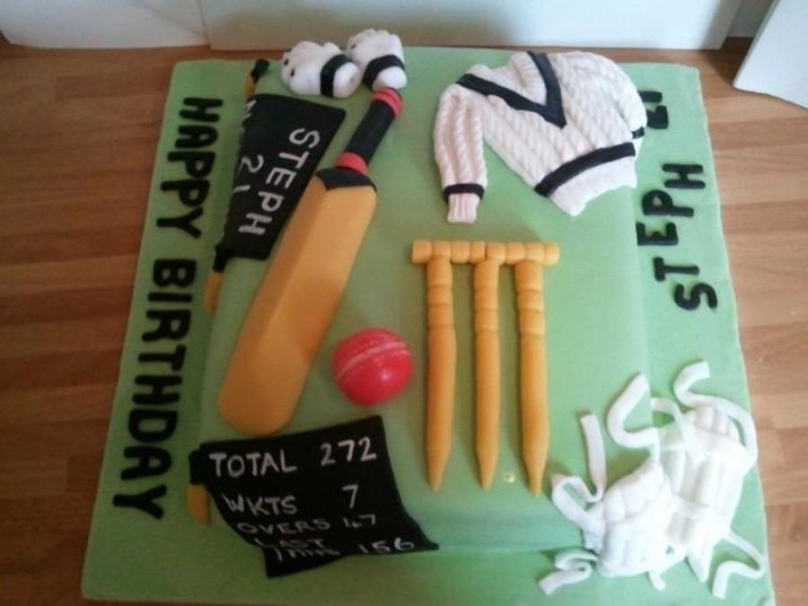 Cricket Ball Cake Recipe