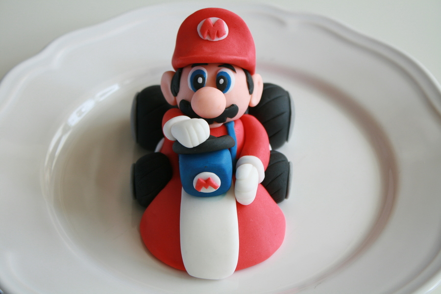 Mario Kart Cake Decorations