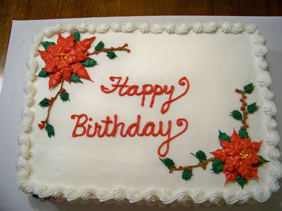 Admirable Christmas Themed Birthday Cake Cakecentral Com Funny Birthday Cards Online Eattedamsfinfo