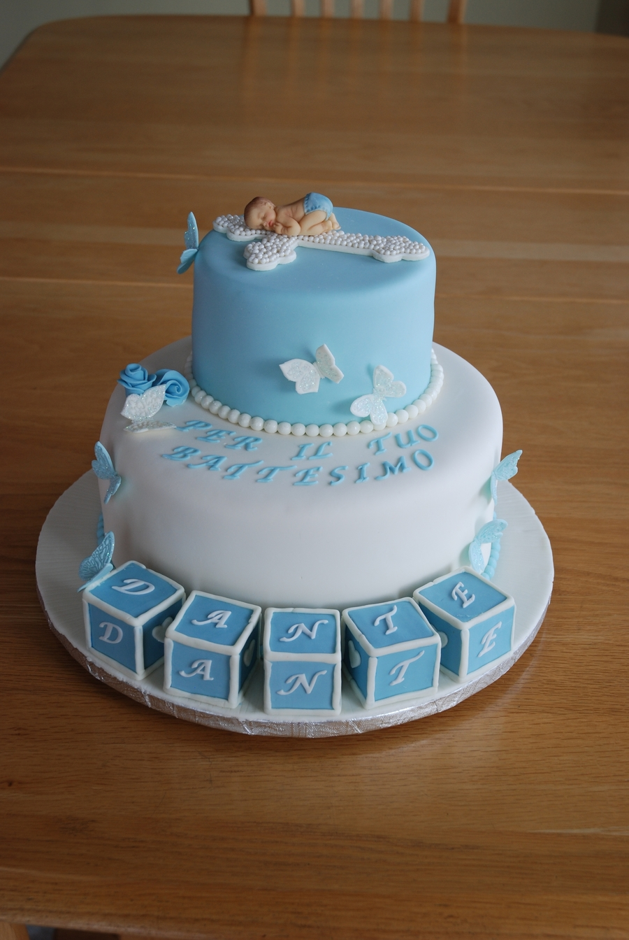 Baby Baptism on Cake Central