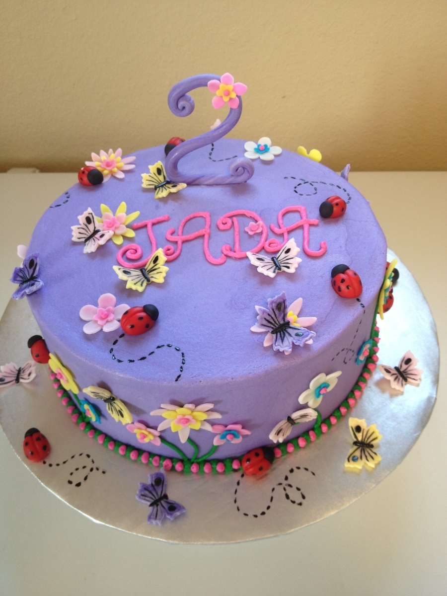 Butterflies & Ladybugs on Cake Central