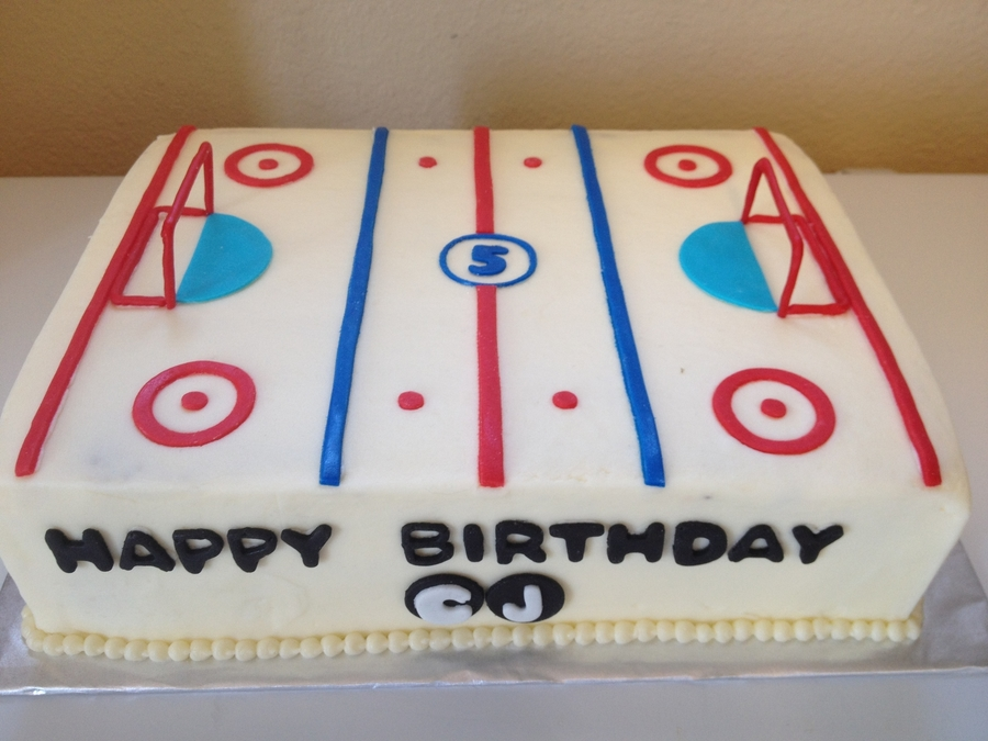 Ice Rink Cake Ideas