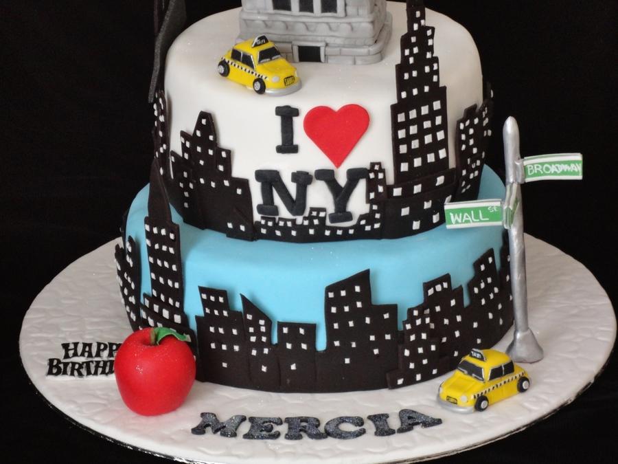 New York Cake - CakeCentral.com