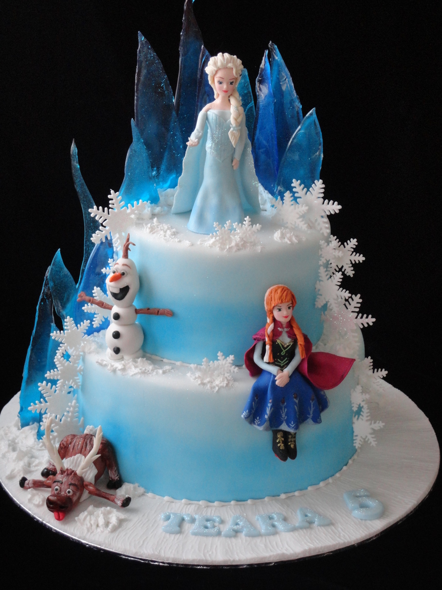 Anna Birthday Cake Set