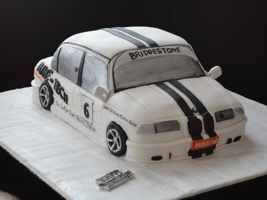 Bmw Racing Car Cake on Cake Central