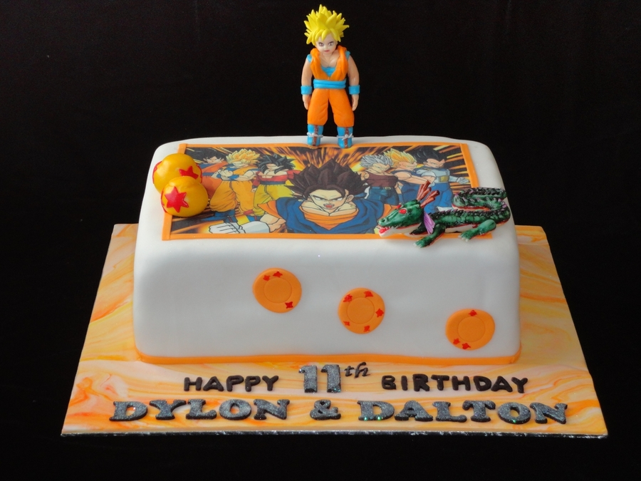 Dragon Ball Z Cake Decorating Kit : Dragon ball z decorations