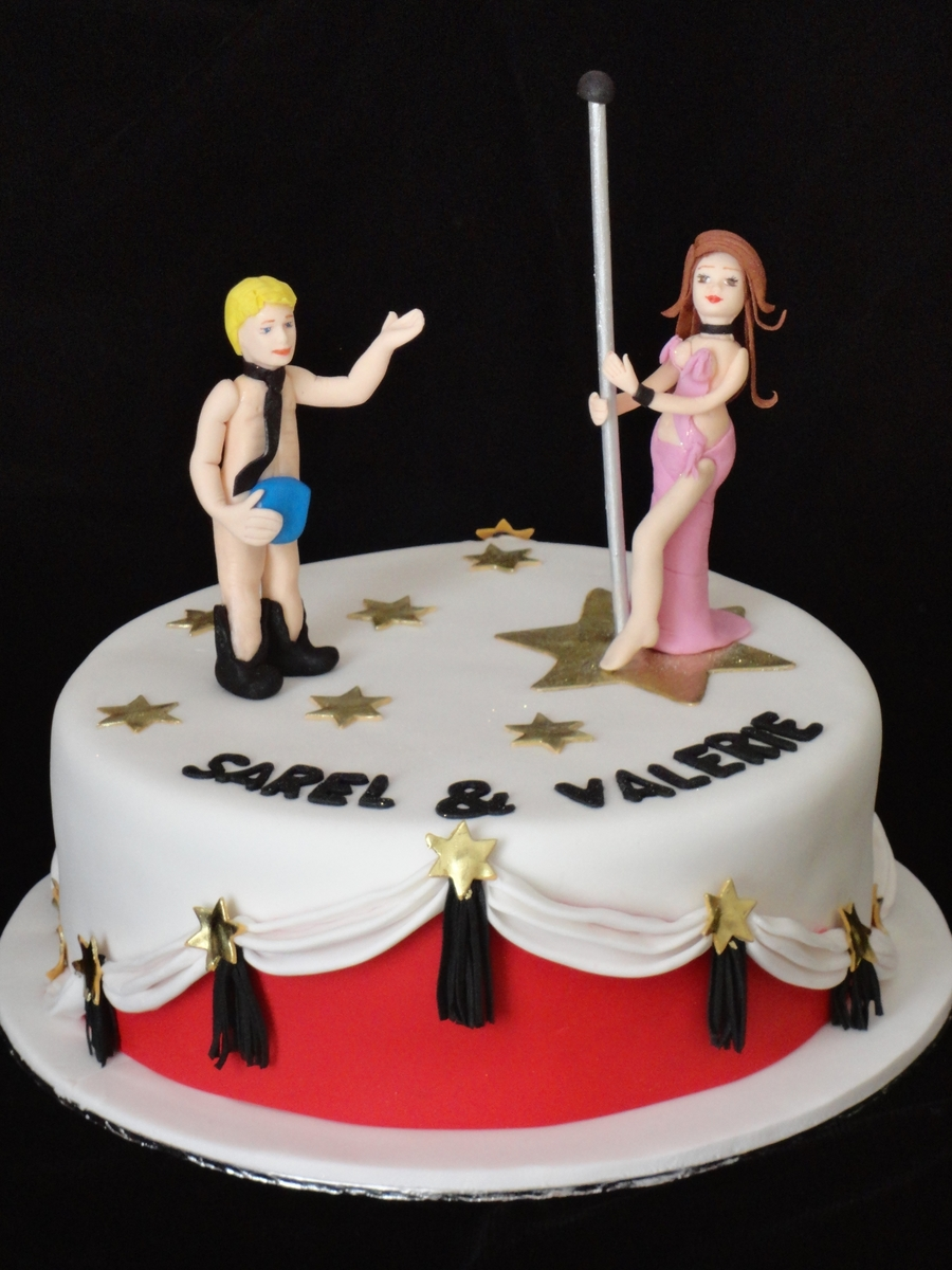 Pole Dancer Cake  on Cake Central