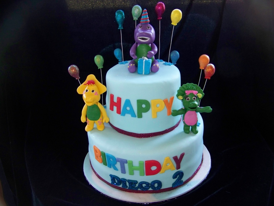 Barney And Friends on Cake Central