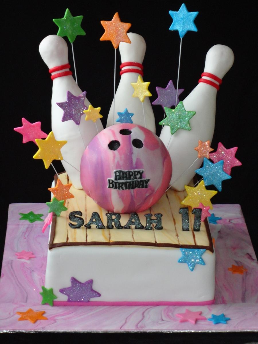 Bowling Birthday Cake Cakecentral Com