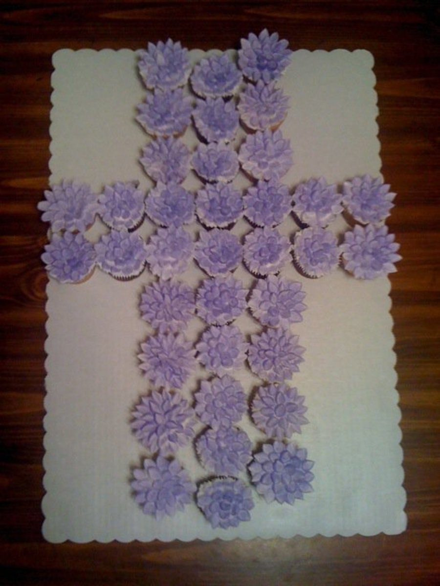 Cupcake Decorating Ideas For First Communion : First Holy Communion Cupcakes - CakeCentral.com