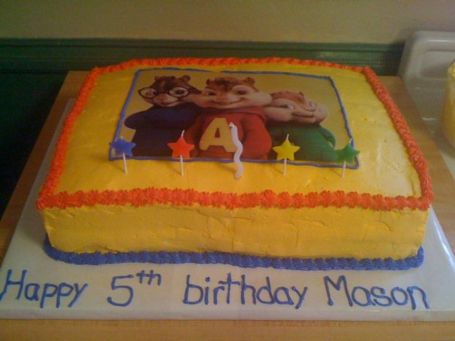 Alvin And The Chipmunks Birthday Cake: Alvin And The Chipmunks Cake