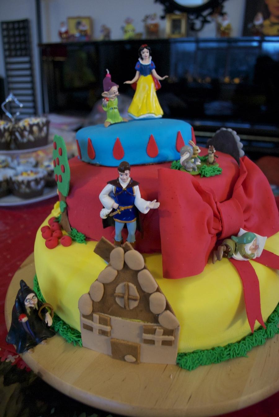 Miraculous Snow White Birthday Cake Cakecentral Com Funny Birthday Cards Online Alyptdamsfinfo