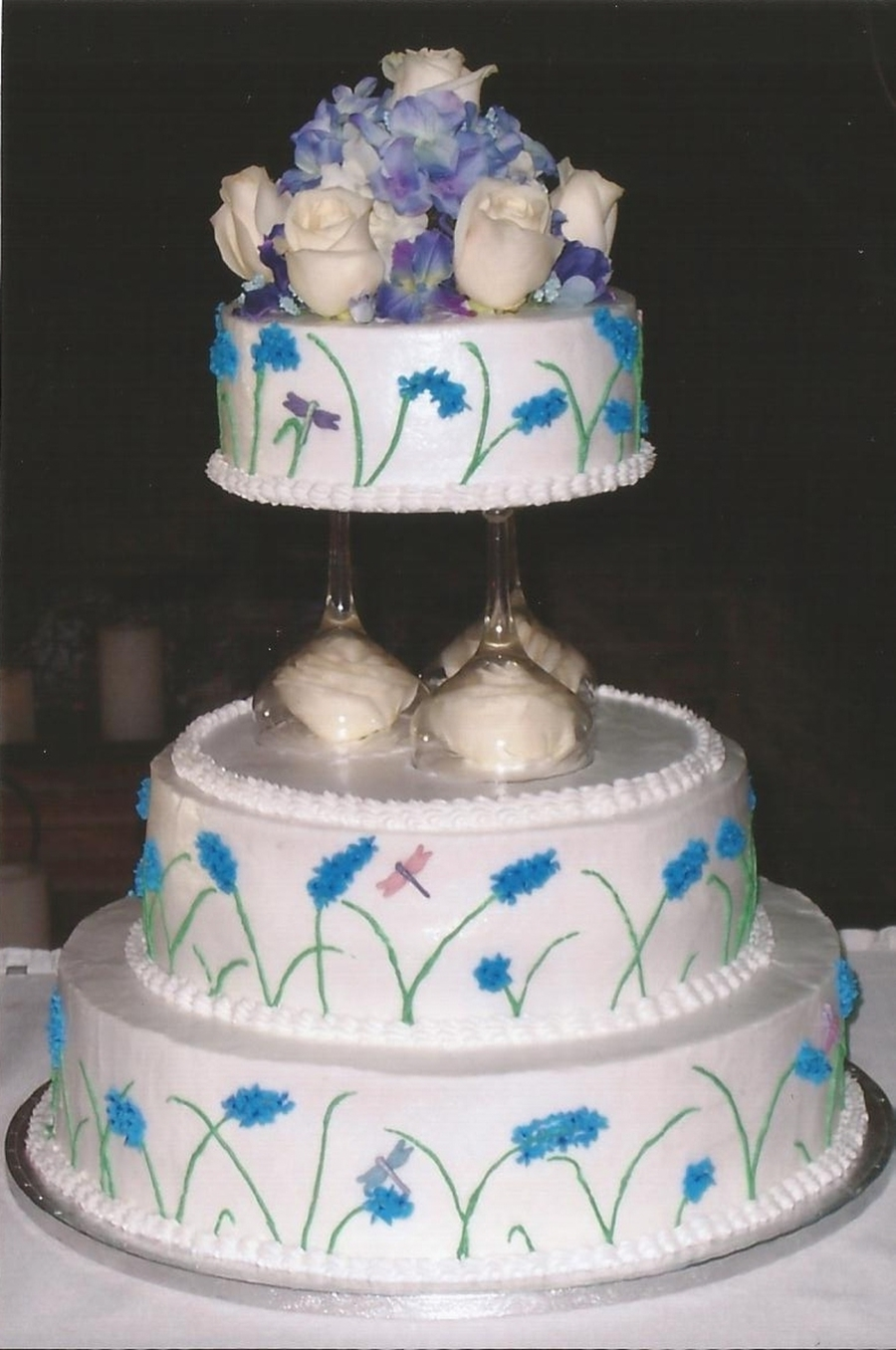 Summer Wedding Cake on Cake Central