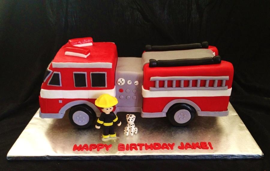 Fire Truck Cake Recipe