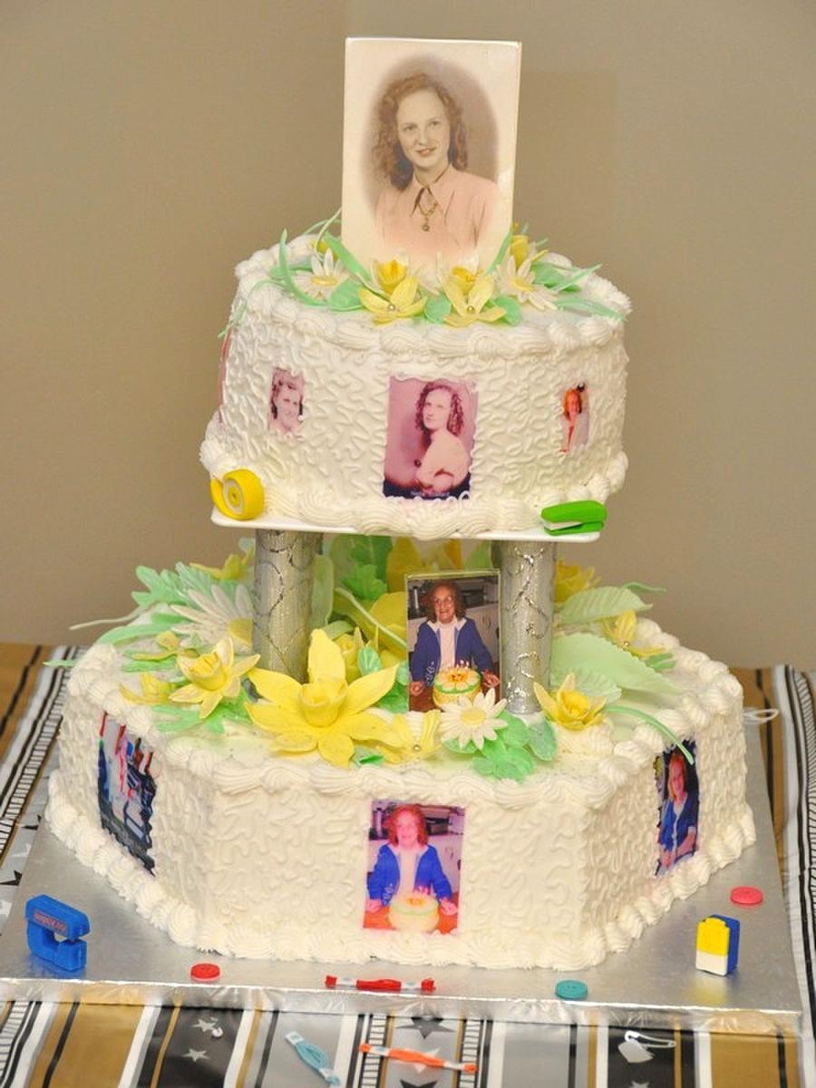 My Moms 80Th Birthday Cake On Central