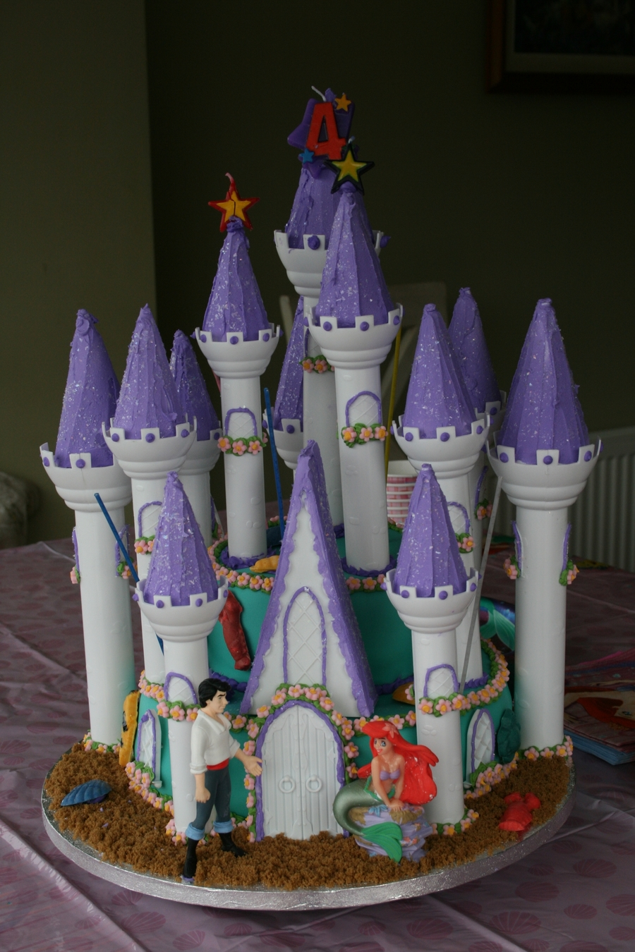Images Of Little Mermaid Birthday Cakes