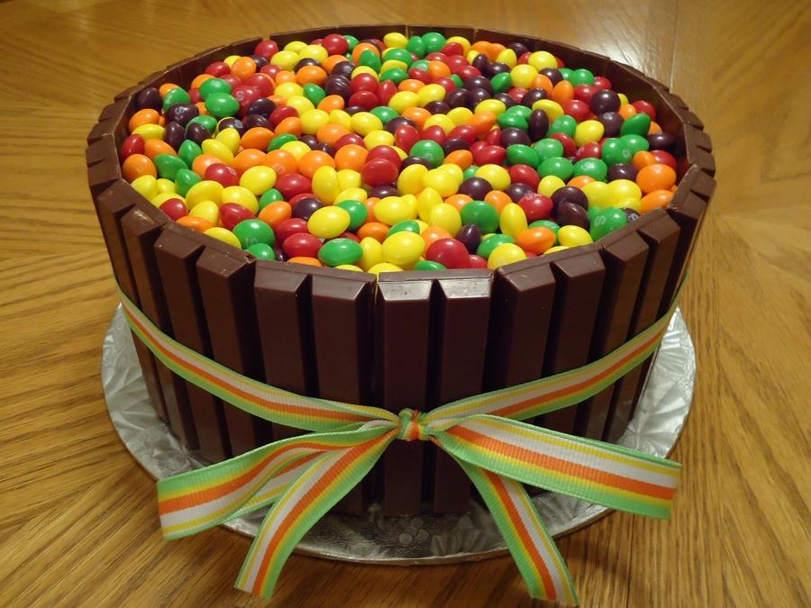 Skittles Birthday Cake Ideas