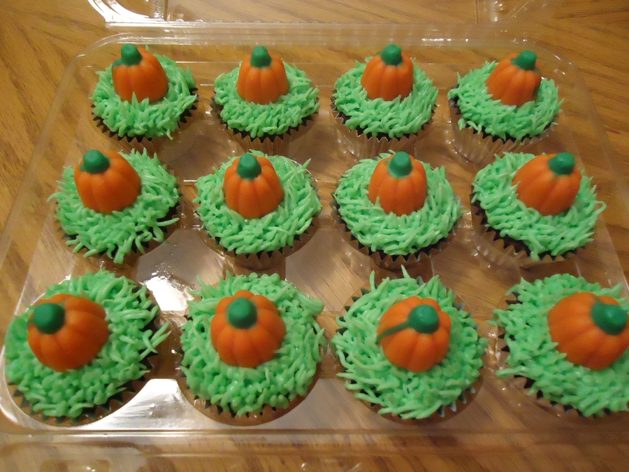 Pumpkin Patch Cupcakes on Cake Central