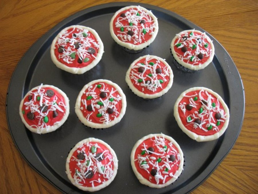pizza cupcakes cakecentral com