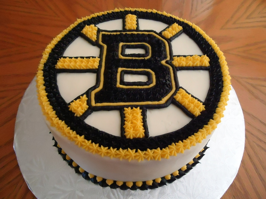 Boston Bruins Cake Cakecentral Com