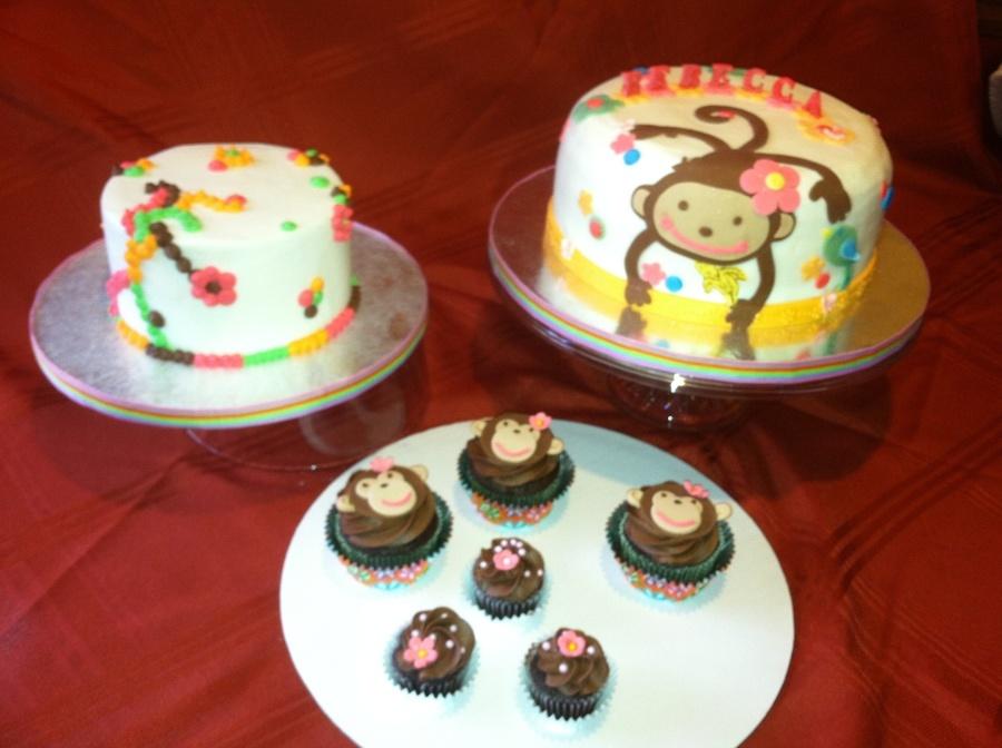 Monkey Love Birthday Cake Cakecentral